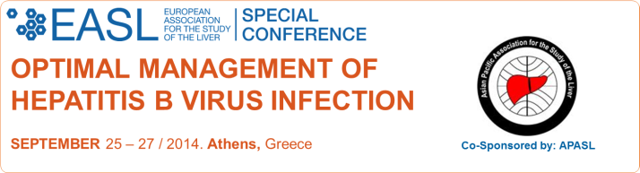 Optimal Management of Hepatitis B Virus Infection 25-27th September 2014    Athens, Greece.